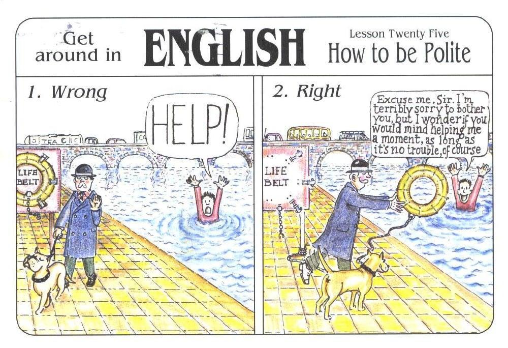 PS English Tweets - Speaking politely (丁寧な表現)